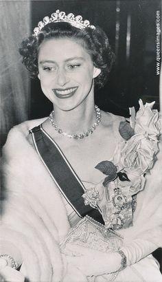 Princess Margaret arrives at opera