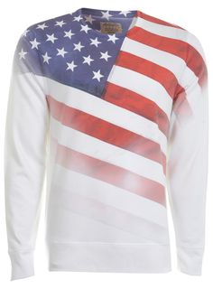 4d90aa470d3b American Flag Sublimation Sweatshirt   - - Clothing