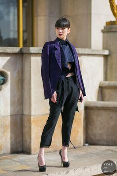 Kozue Akimoto by STYLEDUMONDE Street Style Fashion Photography