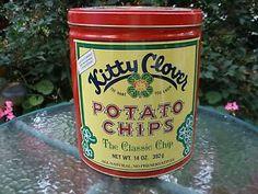 vintage clover club potato chips - Google Search
