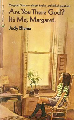 Are You There God? It's Me, Margaret by Judy Blume. This book started my love for Judy Blume This Is A Book, I Love Books, Great Books, The Book, Books To Read, My Books, Reading Books, Reading Club, Tennessee Williams