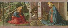 The Nativity by Fra Filippo Lippi