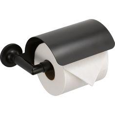 Brizo 695075-BL Odin Matte Black Tissue Paper Holders Bathroom Accessories   eFaucets.com