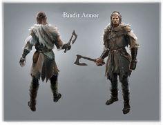Male Bandit   Video Games Artwork