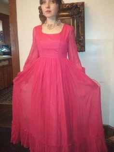 Vintage 60s Lorrie Deb cherry Red retro by VansVintageTreasures, $68.00