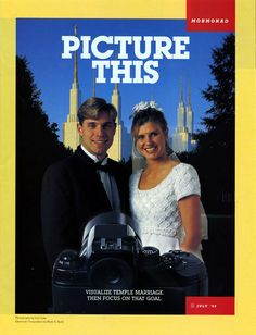 Temples and Temple Marriage.  #Mormonad #LDS #Mormon