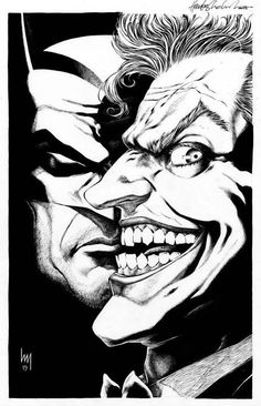 Batman and The Joker by Heubert Khan Michael *