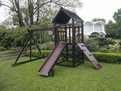 juegos para niños hechos con troncos - Buscar con Google Patio Chico, Patio Grande, Backyard Play, Gazebo, Outdoor Structures, Google, Home Made Games, Wood Games, Childhood Games