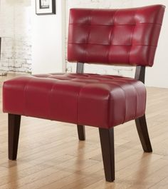 Roundhill Furniture Blended Leather Tufted Accent Chair with Oversized Seating, Red Roundhill Furniture http://www.amazon.com/dp/B00IJF9K1I/ref=cm_sw_r_pi_dp_yvyAub1QXAHGC