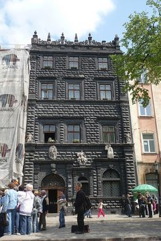 Rynok Place in Lviv - this is the street my family lived on until I was 2 1/2 years old