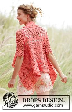 Looking for a beautiful new sweater jacket this summer? You will love this beautiful and stylish summer cotton sweater jacket.  The design is a