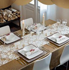 Jak udekorować stół na uroczystą kolację