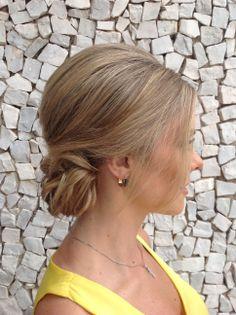 Prévia de cabelo da Noiva Melissa Manzoni, que casou dia 30/11/2013. #welovebeauty #wedding #torritontaunay #casamento #penteadonoiva