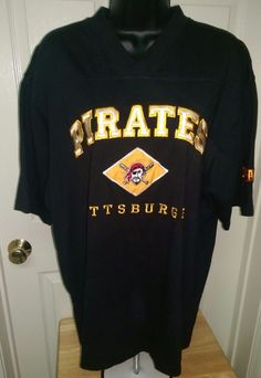 Lee Sport Unisex Multi Color Pittsburgh Pirates T-Shirt Size M #LeeSports #PittsburghPirates