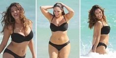 This is Kelly Brook – an owner of a perfect body according to a study conducted at the University of Texas. Kelly Brook Bikini, Kelly Brook Body, Kelly Brook Beach, Kelly Brook Lingerie, Ideal Body, Perfect Body, Perfect Woman, Curvy Fashion, Plus Size Fashion