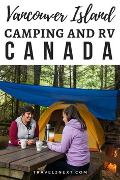 Vancouver Island Camping – Why You Will Love It. Vancouver Island camping is an experience nature lovers should put on the bucket list. Go Camping, Camping Hacks, Outdoor Camping, Camping Ideas, Camping Checklist, Camping Essentials, Best Rv Parks, Minnesota Camping, California Beach Camping