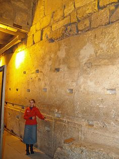 The biggest stone in the Western Wall often called the Western Stone is also revealed within the tunnel and ranks as one of the heaviest objects ever lifted by human beings without powered machinery. The stone has a length of 13.6 meters and an estimated width of between 3.5 and 4.5 meters; estimates place its weight at 570 tons…