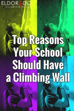 BLOG: If you're a school looking to expand your programming offerings and engage students in a physically and mentally stimulating activity, look no further than building a climbing wall! #climbingwall #school #recreation