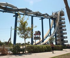 World's Craziest Waterslides: Cliffhanger, Schlitterbahn: Galvestan, TX
