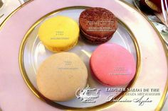 Afternoon tea ❤ Laduree Salon De The GINZA.