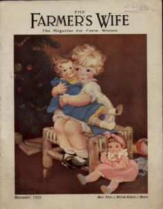 Vintage Christmas Magazine ~ The Farmer's Wife © December 1933