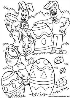 Ostern Ausmalbild