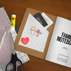 Are you looking for some storage in your Notebook? We love this idea because it gives you extra space! Custom Notebooks, Understanding Yourself, Love You, Space, Storage, Crafts, Floor Space, Purse Storage, Te Amo