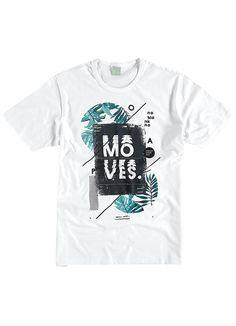 Camiseta Masculina Adulto (Branco) Malwee