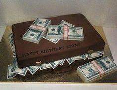 Money suitcase cake (BCakeNY) Tags: moneycake cashcake bcakeny moneysuitcasecake