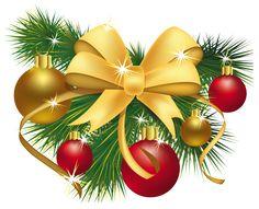 Transparent Christmas Decoration PNG Picture