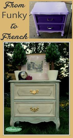 ART IS BEAUTY: Little French Side Table Makeover using La Chaux