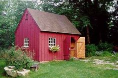 Garden Sheds | ... Style Post and Beam Carriage Houses, Garden Sheds and Country Barns