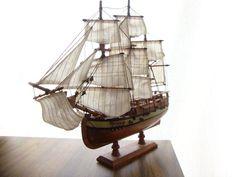 Pirate Ship, Ship w/ Sails $50.00, via Etsy.