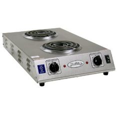 #6: Broil King CDR-1TFBB Professional Double Space Saver Hot Plate, 13-1/2-Inch by 4-1/2-Inch by 22-3/4-Inch, Grey