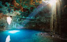 Cenote Samula near Valladolid, Yucatán Peninsula, Mexico, | Discovered from Dream Afar New Tab