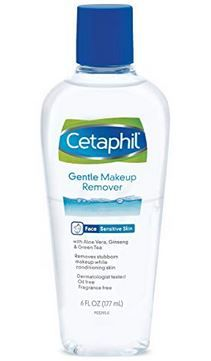 This oil-free, bi-phase liquid – formulated with botanicals – gently and effectively dissolves waterproof and long-wear makeup leaving skin feeling smooth, clean and refreshed. Best Makeup Remover Wipes, Waterproof Makeup Remover, Natural Makeup Remover, Makeup Removers, Aloe Vera, Diy Beauty Care, Combination Skin Care, Cetaphil, Oils For Skin