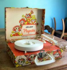 Portable record players