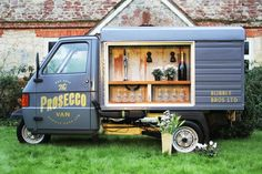 Forget a budget- how do I get this in the states?!? FESTIVAL BRIDES | We Heart: The Bubble Bros Prosecco Van