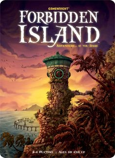 A co-op game. The goal is to gather four treasures and leave the island before it sinks. It's been popular with my family and friends. Simple enough to understand, but complex enough to challenge