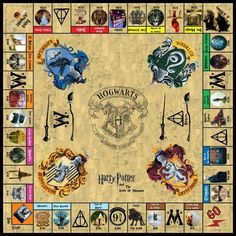 Board monopoly Harry Potter tablero monopolio Harry Potter juego game Funny Games are games that wil Harry Potter Tumblr, Harry Potter World, Harry Potter Film, Harry Potter Haus Quiz, Monopoly Harry Potter, Harry Potter Board Game, Magia Harry Potter, Harry Potter Bricolage, Harry Potter Thema