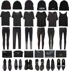 Basically the only things I wear, except different shoes. ♡
