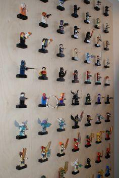 Lego mænd opbevaring