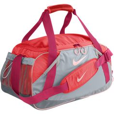d43cfd8c5e06 Nike LIVESTRONG Varsity Girl 2.0 Medium Duffel Bag - Hot Punch