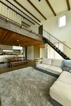 Dream Home Design, Home Interior Design, Interior Architecture, House Design, House Construction Plan, Family Room Walls, Bungalow Interiors, Home Building Design, Loft House