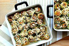 Zapiekanka cukinia jaglanka Lo_01 Pasta Salad, Zucchini, Favorite Recipes, Ethnic Recipes, Food, Crab Pasta Salad, Essen, Meals, Yemek