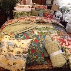 Another fun bedding print from Pottery barn!