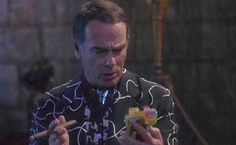 Cantankerous, but lovable Al Calavicci (Dean Stockwell) is a former naval aviator who now serves as Dr. Samuel Beckett's assistant, guide and best friend in Quantum Leap. When he's not helping Sam leap from time period to time period in an attempt to get him back home, you'll find him enjoying his f