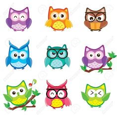 cute owl cartoon - Google Search                                                                                                                                                      More