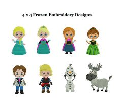 Frozen Embroidery Designs Collection  Frozen Full by StitchValley