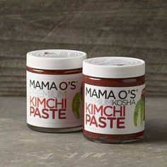 Mama O's Kimchi Paste Set of Regular Paleo Recipes, Gourmet Recipes, Paleo Food, Food Suppliers, Cooking Utensils, Kimchi, Nutella, Kitchen Decor, Sauces